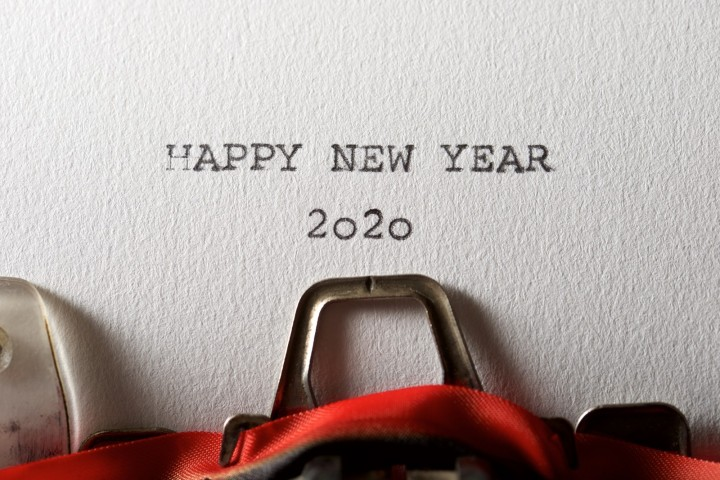 Happy New Year & welcome 2020!